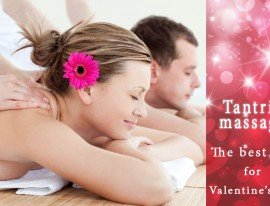 Valentine's day gift ♥ Give a tantric massage to you loved one!