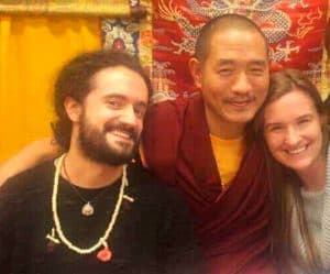 With Drubpon Tsering Rinpoche